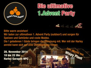 1. Advendparty