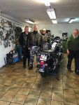 ... neuen Reifen für beste Freunde aus Schweden vom besten Harleyschrauber der Welt!